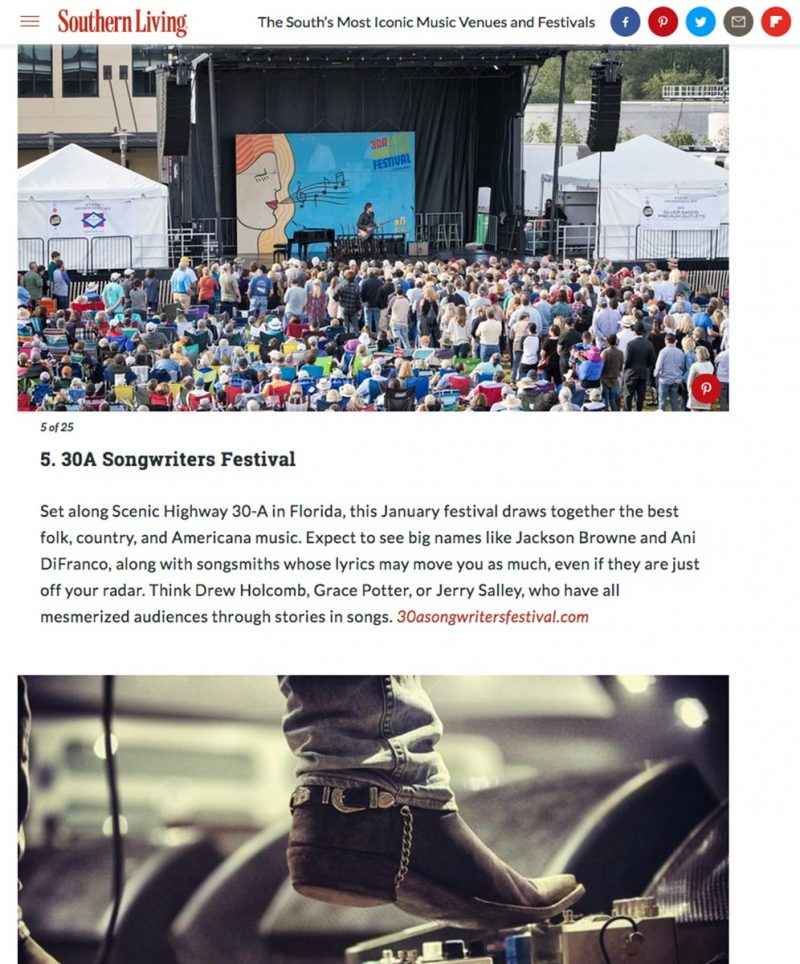 southern livings best events and festivals